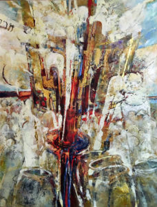 featured_artist-BOMER-The Wedding Feast at Cana-Water Into Wine