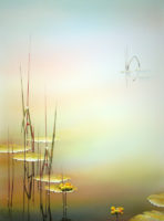 "watercolor image size: 30"" H x 22"" W 2011"