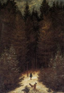 The Chasseur in the Forest (1814)