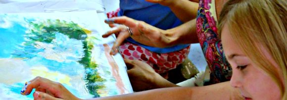 Art Healing in Newtown CT: The Painting Table