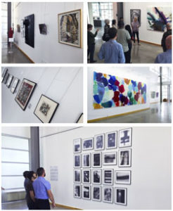 photo of people in a gallery