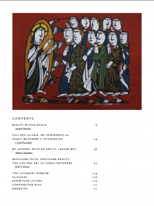 Beauty Given by Grace - Table of Contents